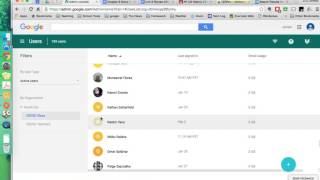 Google Admin - Creating Students and Changing Passwords