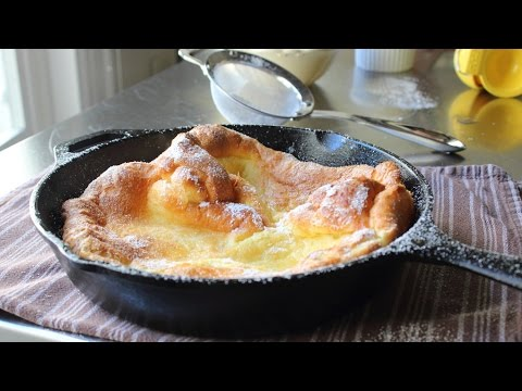 Dutch Baby Recipe – How to Make Dutch Babies – German Pancakes