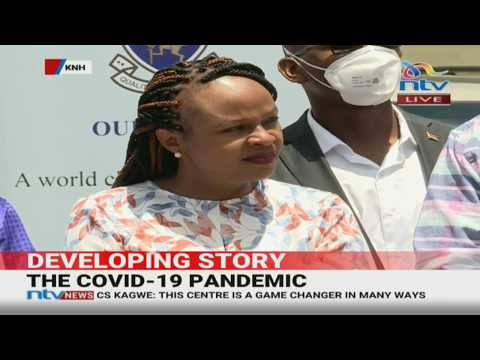 KNH Launches Telemedicine Technology for detection of COVID-19