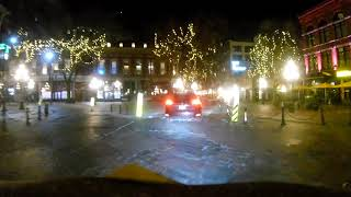 Hoverbot Friday nite ride FPV in Vancouver BC Canada US border closes tonight! 1st time in history.