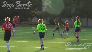 U14 Girls Soccer Joga Bonito Soccer Club Red 06-09-2017