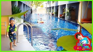 น้องบีม | นอนโรงแรมติดสระน้ำ เที่ยวเพชรบุรี ชะอำ