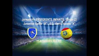 R.F.F.M. - Jornada 9 - Preferente Infantil (Grupo 2): Juventud Sanse 2-0 C.D. Santa Helena