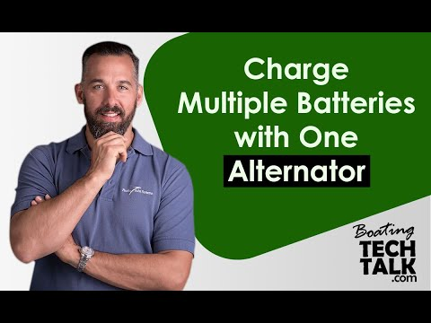 Intro - Charge Multiple Batteries with One Alternator
