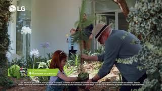 LG Lavadoras LG que cuidan de ti, de tu familia y del planeta anuncio