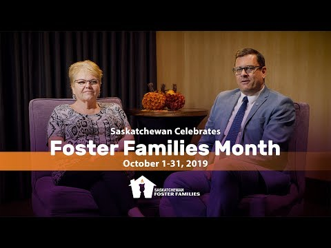 Celebrate Saskatchewan Foster Families Month October 2019