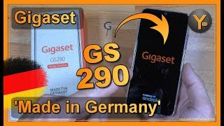 """Smartphone Made in Germany: Das Gigaset GS290 (6,3"""" Android 9.0 Octa-Core 4GB/64GB)"""