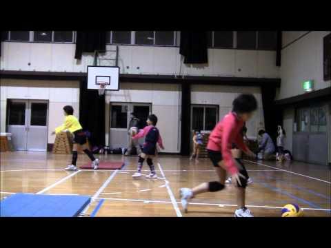 千早西ジュニアバレーボールクラブ2011