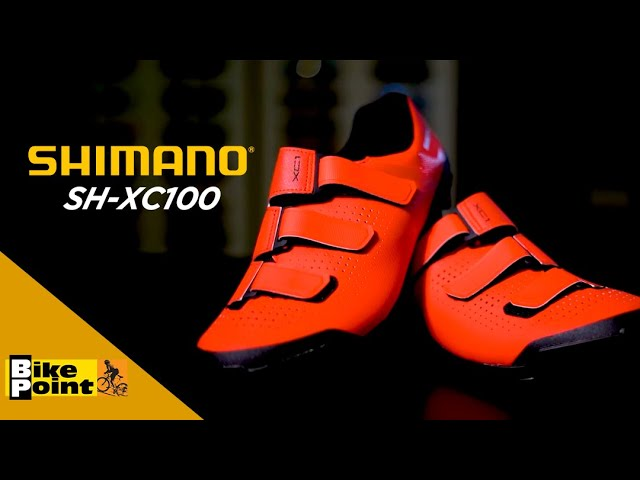 Видео Велотуфли Shimano SH-XC100ML черные