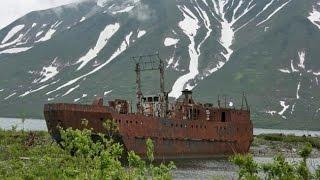 Петропавловск - Камчатский 54. Бухта Финвал.  Заброшенная база подлодок вмф Бечевинка.