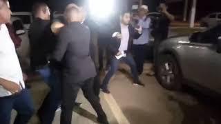 Vídeo mostra socos e xingamentos durante barraco provocado por vereador