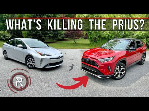 Here's Why The 2021 Toyota Prius Has Become An Undesirable Electrified Car