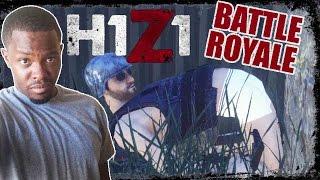KILLER GAS AND BLACK JOKES!! - H1Z1 Battle Royale Gameplay