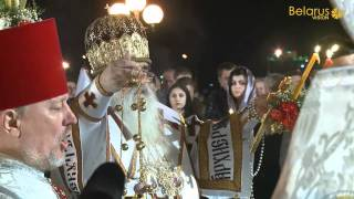 Belarusian Orthodox Christians celebrate Easter