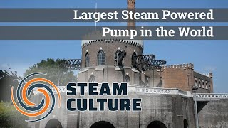 Largest Steam Powered Pump in the World (Cruquius steam pumping station) - Steam Culture