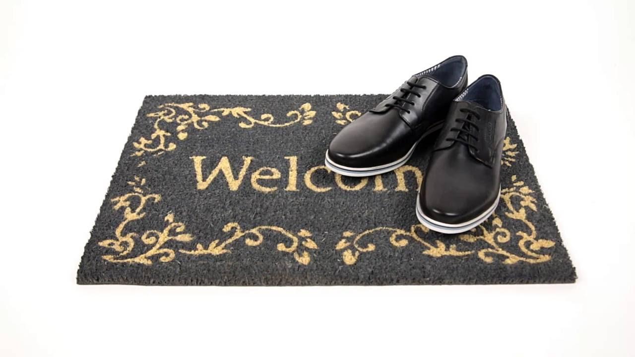 Video von: Fußmatte 'Welcome' Kokos 40x60 cm