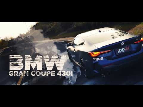 BMW 430i (G22/G23) │radical exhaust sound w/iPE_Exhaust