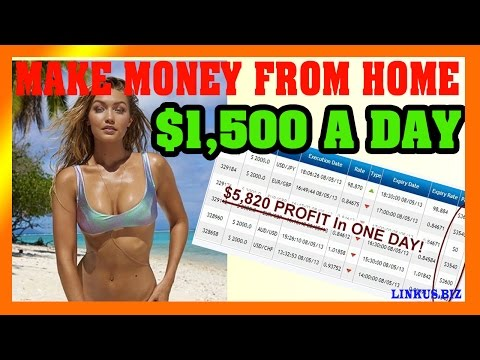How To Make Money Online Fast – Make Money From Home 2017 $1,500 Per Day