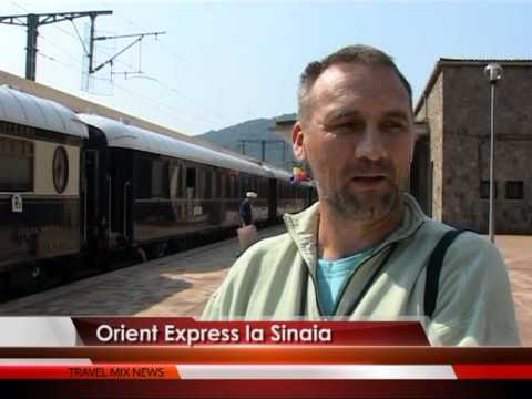Orient Express la Sinaia – VIDEO