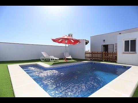 alquiler chalet con piscina en conil frontera Cadiz por particulares