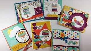 Celebrate Today Card Set featuring Project Life Cards