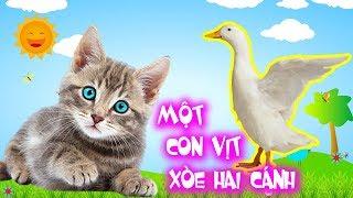 Một Con Vịt, Thương Con Mèo - Liên Khúc Nhạc Thiếu Nhi Con Vật Vui Nhộn Cho Bé 2020