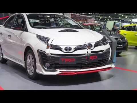 Toyota Yaris Ativ Trd Grand New Veloz 1.3 Matic 2018 Future Vios Bodykit Xem Trước Sportivo Chinh Thức Ra Mắt Tại Thai Lan Dưới Ten