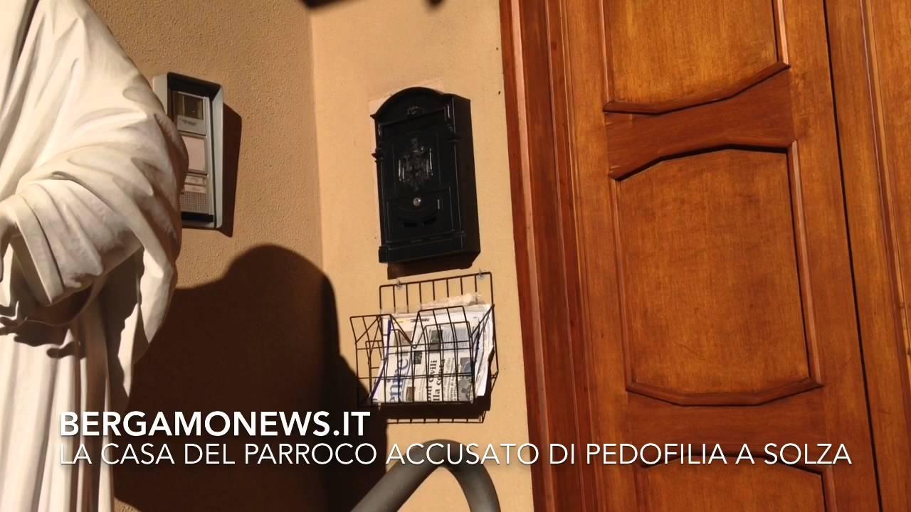 Parroco di Solza accusato di pedofilia
