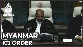 ICJ orders Myanmar to protect Rohingya