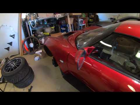 Lotus Elise Track Prep   Wheels   Camber Arms   Toe Links