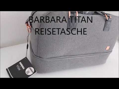 Barbara Titan Reisetasche Weekender Travelbag unboxing