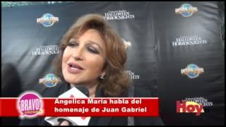 El agradecimiento de Angélica Maria a Juan Gabriel