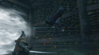 Sekiro: Shadows Die Twice - Lone Shadow Longswordsman Boss Fight