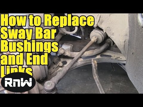 How To Remove And Replace Sway Bar Bushings And End Links - Also Inspection Procedure And Other Tips Mp3