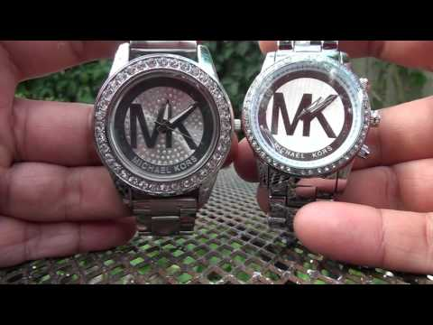 Aliexpress pickup ! MK watches HIS & HERS ( silver )