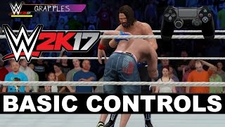 WWE 2K17 Basic Controls Tutorial (Video)