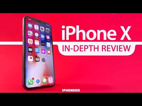 iPhone X — In-Depth Review [4K]