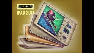 Unboxing Apple iPad (2017) Gold