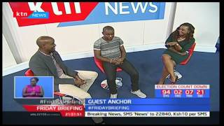 Kenya's latest Dollar Millionaire Samuel Abisai makes a courtesy call on Friday Briefing pt 2
