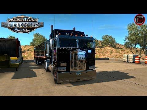 American truck simulator custom cobra dump trailer