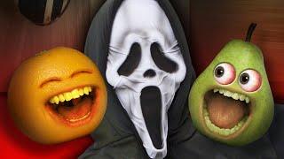 Annoying Orange - Scare Pear Challenge #4 | #Shocktober