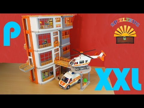 Kinderklinik XXL zwei Etagen Ergänzung 6443 Einrichtung Erweiterung 6657- Playmobil City Life - Film
