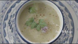 Tu cocina - Sopa de lechuga