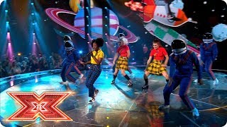 Rai Elle Williams Is Mrs Big Stuff! | Live Shows | The X Factor 2017