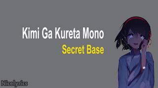 Lagu Jepang Paling Sedih    Kimi Ga Kureta Mono ~ Secret Base   Terjemahan Lyrics Indonesia