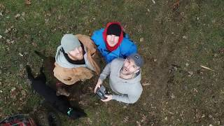 Flying the drone in Rochester NY