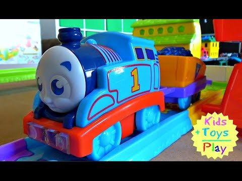My First Thomas and Friends Railway Pals Destination Discovery Unboxing and Review Video for Kids