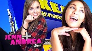 Jenn & Andrea go to IKEA - THE JENN & ANDREA SHOW ep. 2