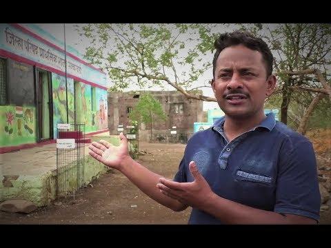 Teachers Steering Village to Fight Drought (Marathi)