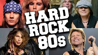 Top 100 Greatest 80s Hard Rock Music Hits